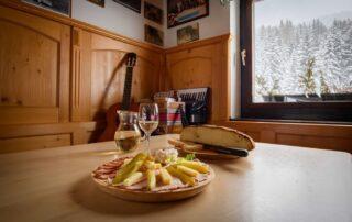 Mozirska koča na Golteh - kulinarika