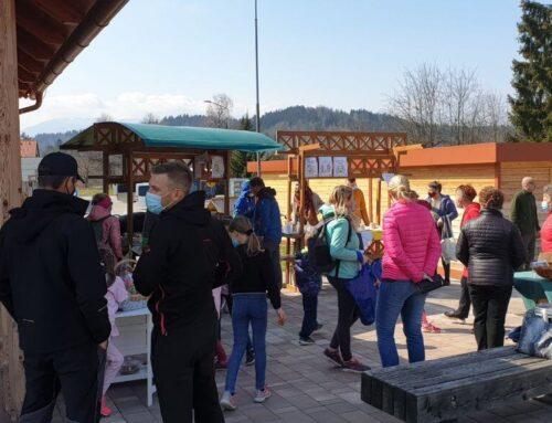 Z velikimi koraki proti novi Mozirski koči; na dobrodelni tržnici zbrali več kot 3.200 evrov
